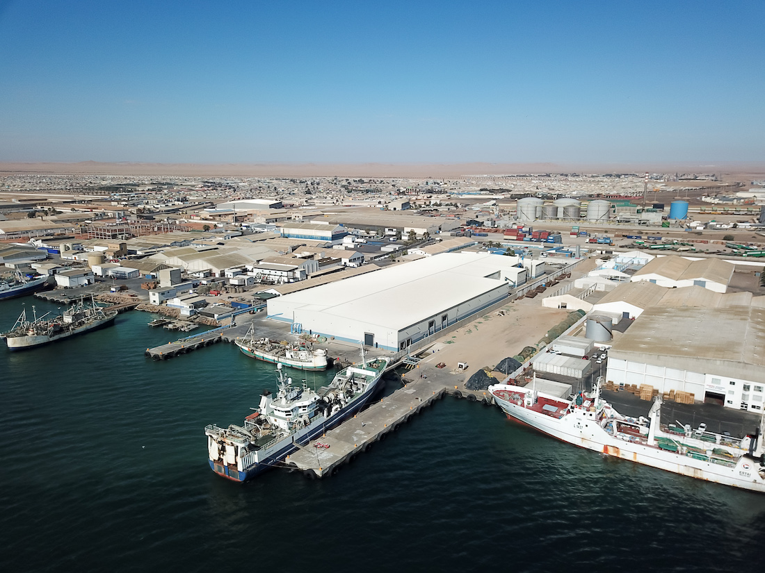New LEMCO Steel Structure Factory in Walvis Bay Namibia