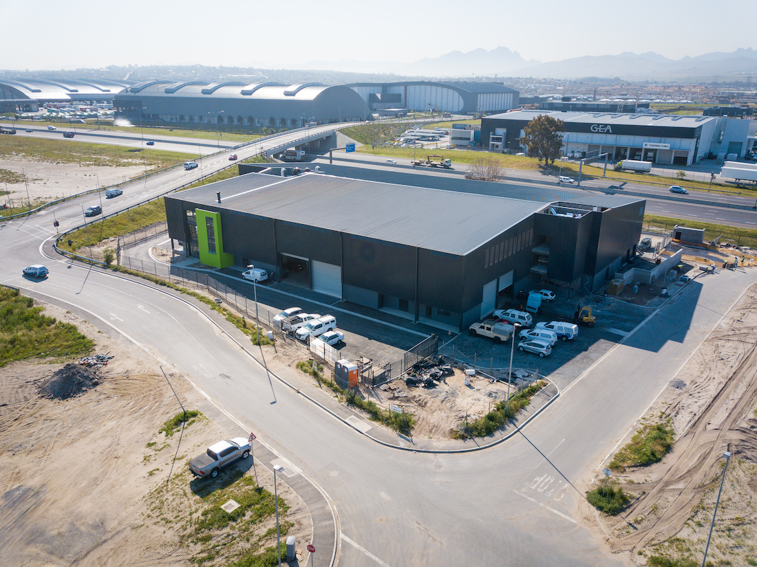 CE Global Cape Town Church LEMCO industrial steel structures